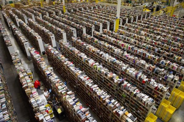 Inside An Amazon.com Distribution Center On Cyber Monday