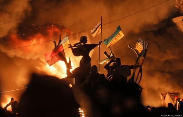 APTOPIX Ukraine Protest